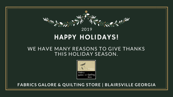 Holiday Hours.